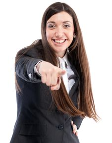 Free Portrait Of Girl In Business Suit Stock Photos - 19935973