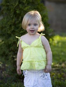 Free Little Girl Stock Image - 19936041