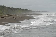 Free Jungle Beach Costa Rica Stock Photos - 19936093