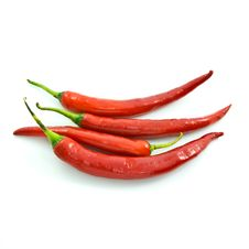 Free Long Red Chili Stock Image - 19936331