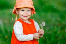 Free Little Girl Stock Photography - 19936382