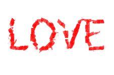 Free Love (word) Stock Photos - 19936443