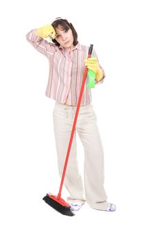 Free Housework Royalty Free Stock Photography - 19937217