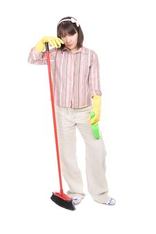 Free Housework Royalty Free Stock Images - 19937219