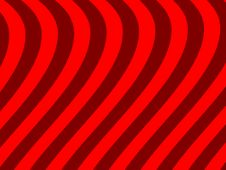 Free Red Wave Background Royalty Free Stock Photos - 19947198