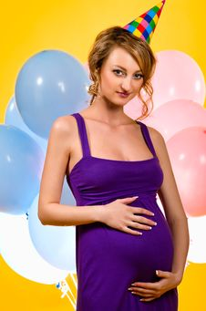 Free Pregnant Woman Stock Photography - 19949082