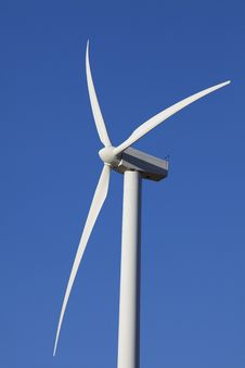 Free Wind Turbine On Alternative Energy Windmill Farm Stock Photo - 19949120