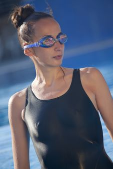 Free Female Swimmer Stock Image - 19949911