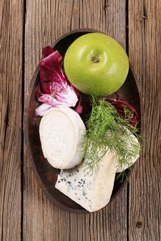 Free Variety Of Cheeses Royalty Free Stock Image - 19949996