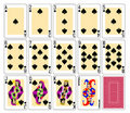 Free Playing Cards - Spades Stock Image - 19951091