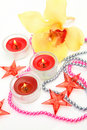 Free Flower And Candles Royalty Free Stock Photo - 19954915