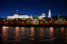 Free Russia, Moscow, Night View Stock Photo - 19950380