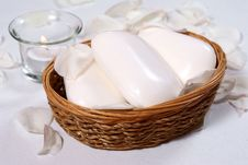 White Soaps Royalty Free Stock Photos