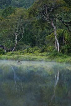 Free Misty Morning Landscape Stock Photography - 19952142