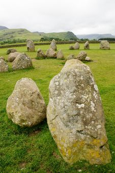 Free Castlerigg Stone Circle Stock Photography - 19952362