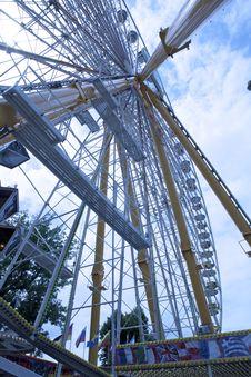Free Ferris Wheel 1 Royalty Free Stock Photo - 19952415