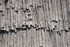 Free Old Wood Roof Stock Image - 19952471