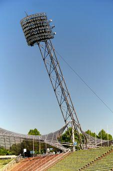 Free Olympic Stadium München - Light Panel Stock Photos - 19952813