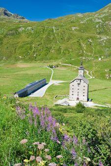 Free Barracks, Simplon Pass, Switzerland Royalty Free Stock Photos - 19952968