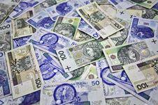 Free Polish Money 100 And 50 Zloty Royalty Free Stock Image - 19953196