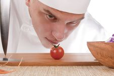 Free Young Cooks Stock Photography - 19954432