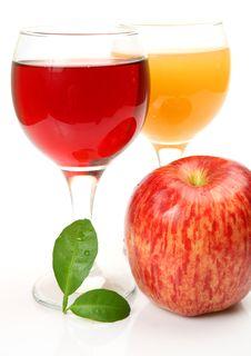 Free Fresh Fruit And Juice Royalty Free Stock Photo - 19955395