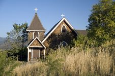 Free Countryside Church Stock Photography - 19955542