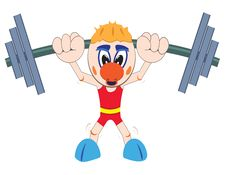Free Weightlifter Lifting Barbell Stock Photo - 19955650
