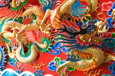 Free Chinese Dragon Statue Stock Image - 19955701