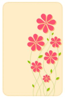 Free Floral Background Royalty Free Stock Photo - 19955765