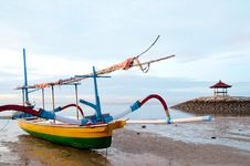 Free Fisherman Boat Stock Photography - 19955812