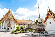 Free Wat Pho Temple Stock Photography - 19955842