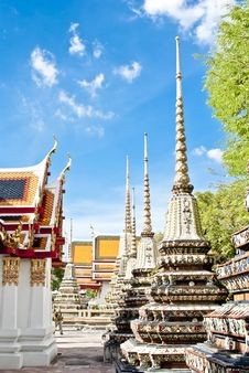 Free Wat Pho Temple Stock Photography - 19955872
