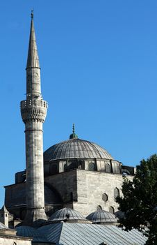 Free Mihrimah Sultan Mosque (Uskudar). Royalty Free Stock Photos - 19956078