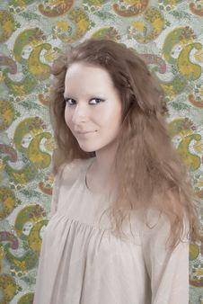 Beautiful Woman With Makeup. Fashion Photo