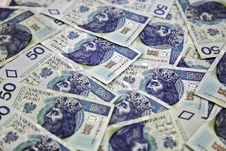 Free Polish Money 50 Zloty Stock Photos - 19956383