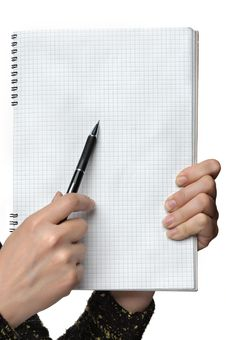 Free Blank Page Royalty Free Stock Photo - 19956595
