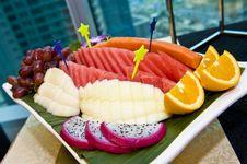 Free Fruit Platter Royalty Free Stock Image - 19956706