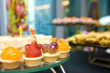 Free Delicious Canapes And Sweets Stock Photo - 19956760