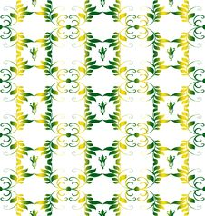 Free Seamless Floral Pattern Stock Images - 19956804