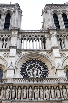 Free Detail Of Notre Dame Royalty Free Stock Photography - 19956817