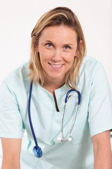 Free Doctor Woman Portrait Royalty Free Stock Images - 19957329