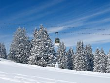Free Skiing Slope Stock Images - 19957854