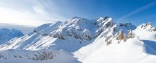 Free Winter In The Alps Royalty Free Stock Image - 19957876