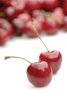 Free Fresh Sweet Cherries Stock Image - 19958881