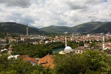 Free View Over Mostar, Bosnia And Hercegovina Royalty Free Stock Photo - 19959175