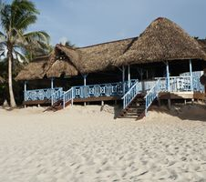 Free Bar On Caribbean Beach Stock Images - 19959284