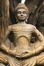 Free Wooden Buddha Statue Stock Image - 19966791