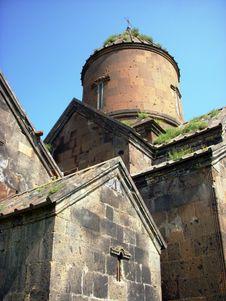 Saghmosavank Monastery, Armenia Royalty Free Stock Photography