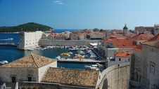 Free Dubrovnik Harbour Royalty Free Stock Photos - 19961418